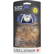 FRONTAL LED LENSER SEO7 RECARGABLE