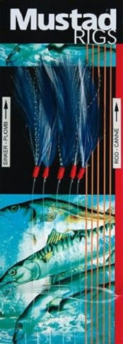 MUSTAD T58 BLUE MACKEREL AND POLLACK 1/0